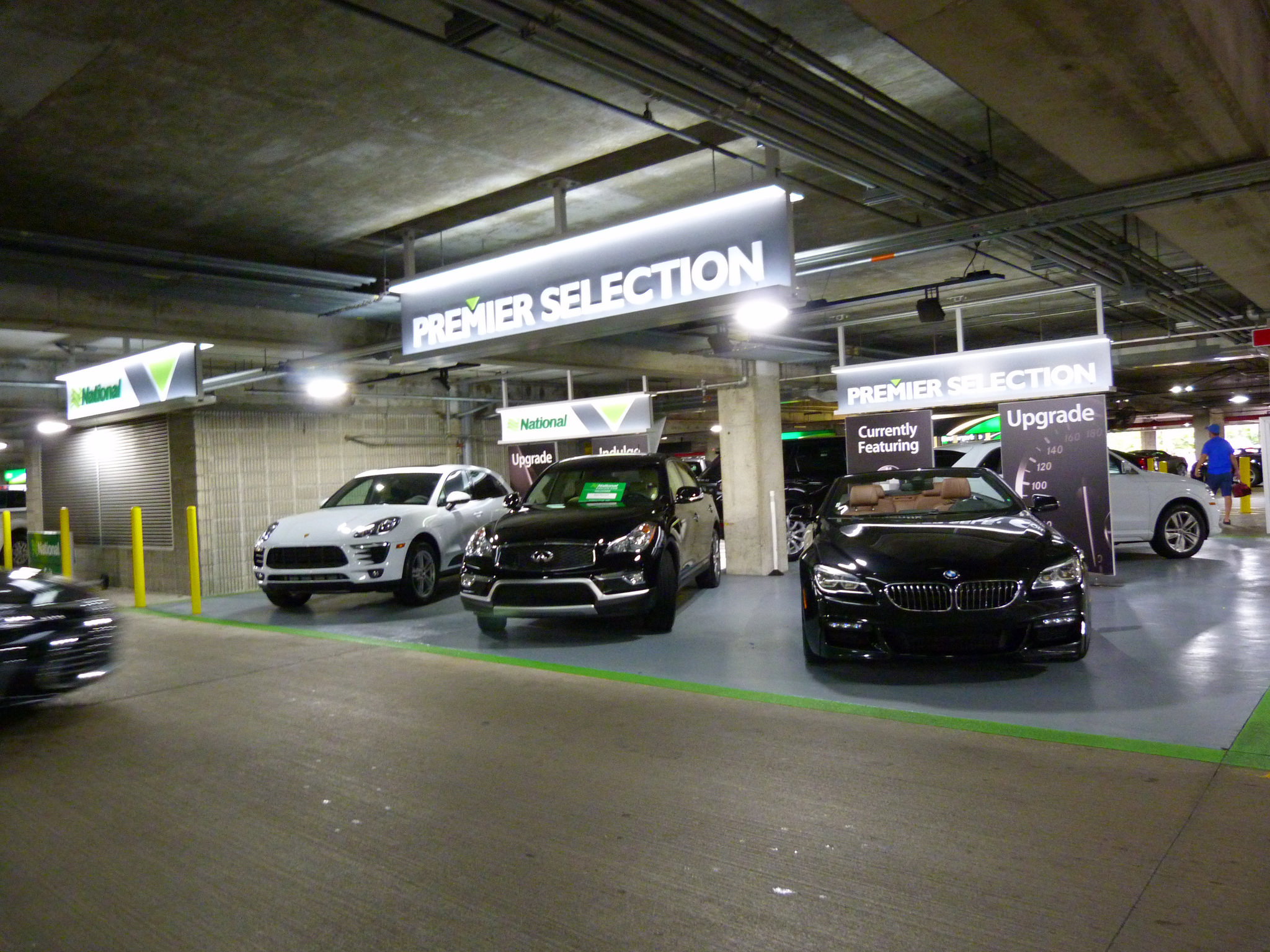 A National Car Rental car selection at Orlando International Airport. Orlando International Airport – Photo: Rusty Clark ~ 100K Photos via Flickr, used under Creative Commons License (By 2.0)